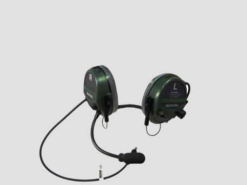 MePaBlu Tactical Headset Modell PROFI II Mil H