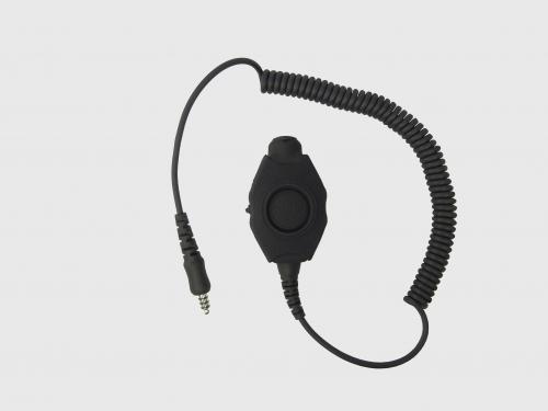 MePaBlu PTT mit Adapter für NATO 4pol Klinkenstecker