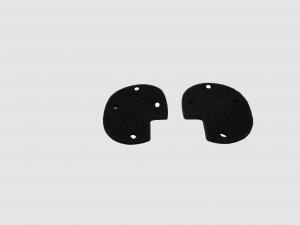 Mund-Nasen-Schutz-Maske Schwarz