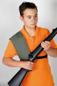 Holder for shoulder pads